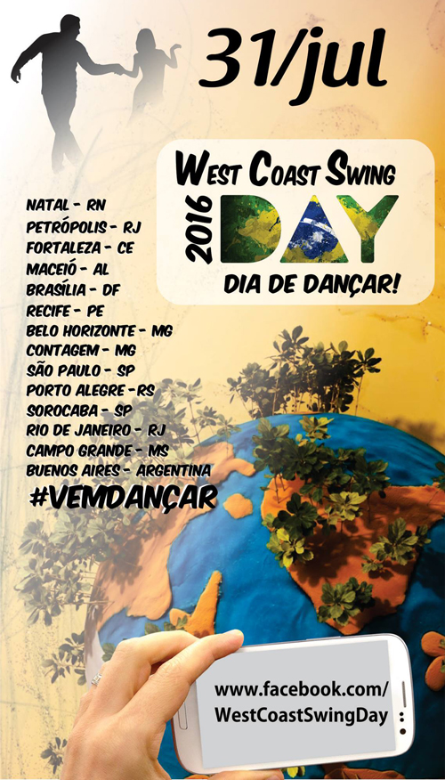 West Coast Swing Day @ Brasil | Brasil