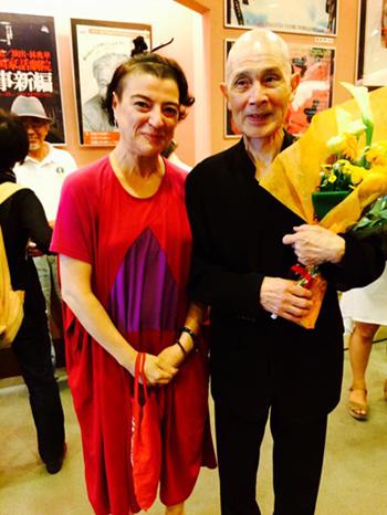 Ana Medeiros e Yoshito Ohno   Foto: arquivo pessoal