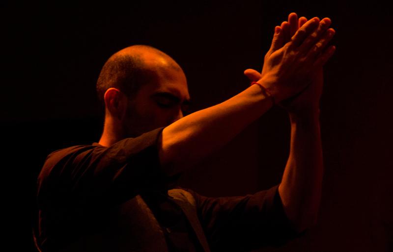 O bailaor Pedro Fernandez, convidado especial do Perla Flamenca Tablao