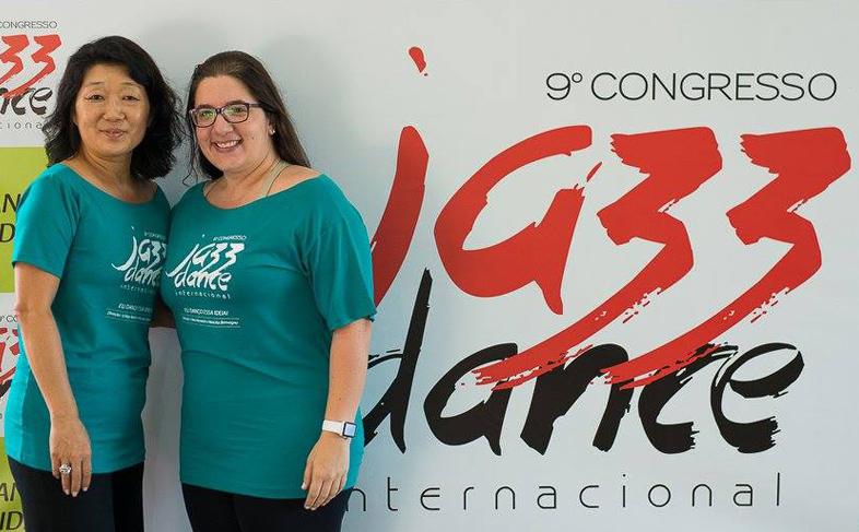 Érica Novaes e Marcela Benvegnu, diretoras do congresso.   Foto: Wiliam Aguiar