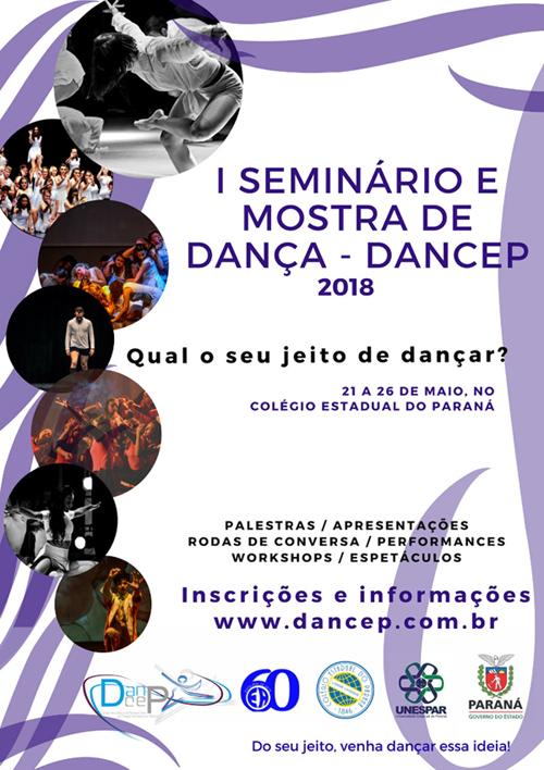 I Seminário e Mostra de Dança - DANCEP @ Colégio Estadual do Paraná | Paraná | Brasil