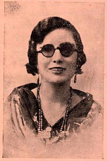 A cantora de flamenco Niña de la Puebla.